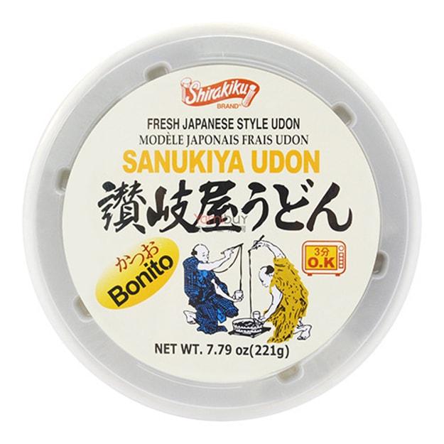 Product Detail - SHIRAKIKU Sanukiya Udon Bowl Katsuo (Bonito) 221g - image 0