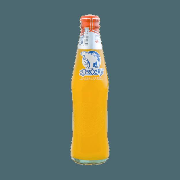 商品详情 - 北冰洋 桔子味汽水 瓶装 248ml 老北京风味 - image  0