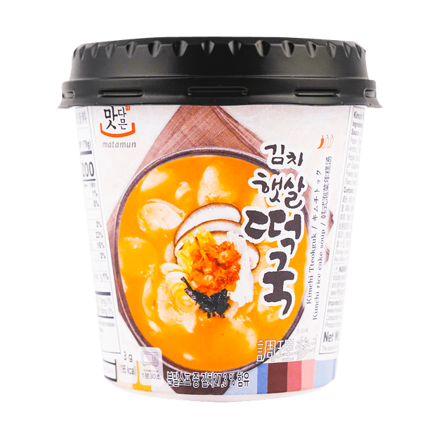 Product Detail - YOPOKKI Cup Kimchee Rice Cake Soup 78g - image 0