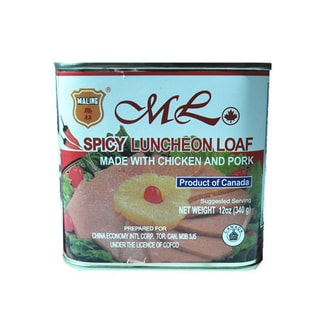 MALING Spicy Luncheon Loaf (Made with Chicken and Pork) 340g