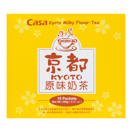 CASA Kyoto Milky Flavor Tea -10 bags 250g