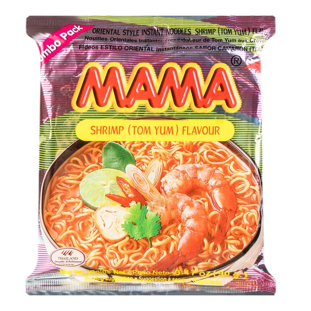 Product Detail - MAMA Instant Noodle Shrimp (Tom Yum) Flavor 90g - image 0