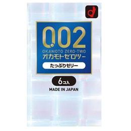 OKAMOTO 0.02 Condoms Jelly double 6pcs