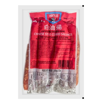 VENUS Chinese Style Cured Sausage 340g USDA Certified