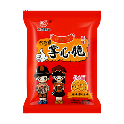 YALAN Crispy Palm Noodle Snack Roasted Fish Flavor 26g