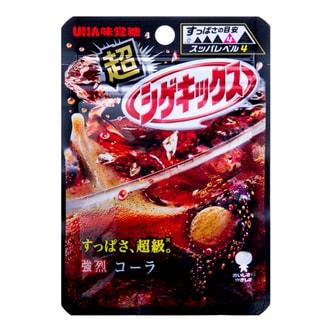 日本UHA悠哈味觉糖 超激烈的可乐味糖 20g