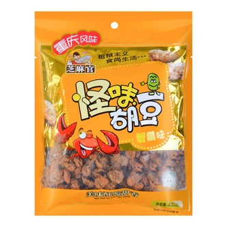 芝麻官 重庆风味怪味胡豆 蟹黄味 420g