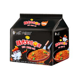 BAIXIANG Instant Noodle Korean Style Spicy Chicken Flavor 5Pack