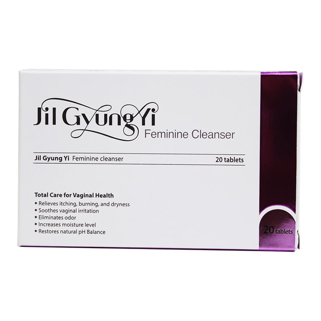 Product Detail - JILGYUNGYI Feminine Vagina Total Health Cleanser 20 tablets - image 0