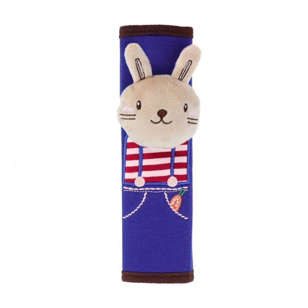 Product Detail - Cute Cartoon Style Children Protecting Belt Shoulder Pad Cushion Car Safety Seat Belt Cover Rabbit 1pc - image 0