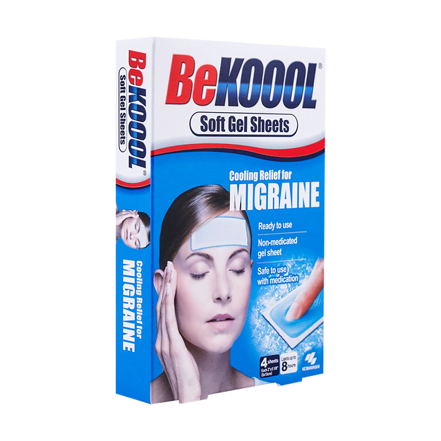Product Detail - KOBAYASHI Soft Cooling Gel Sheets for Migraine 4 Sheets - image 0