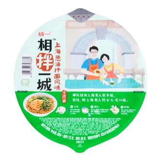 台湾统一 相拌一城 上海葱油拌面 碗面 113g