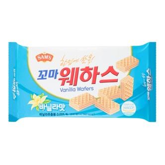 韩国SAMAH SAM'S 华夫小威化 香草味 80g