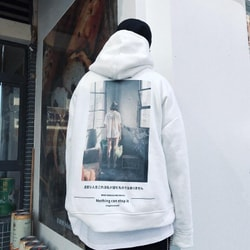 NIEPCE Ghost Girl Hoodie White XL 1 Piece