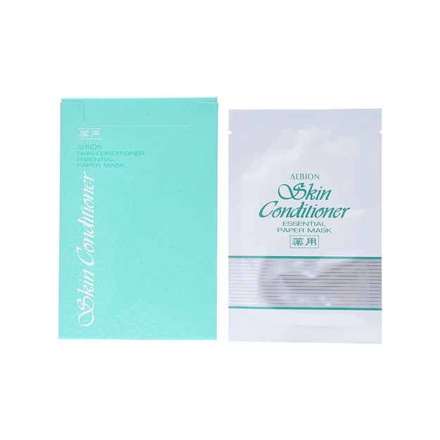 Product Detail - ALBION Skin Conditioner Essential Paper Mask 8pc - image 0