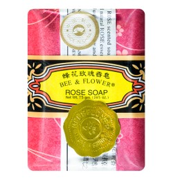 BEE & FLOWER Multi Purpose Soap Rose 75g