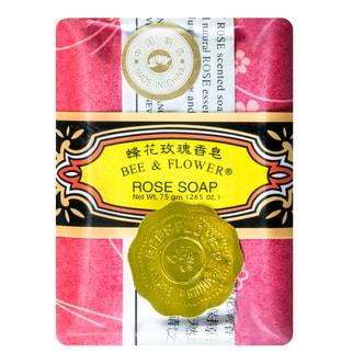 上海蜂花香皂  BEE & FLOWER 蜂花玫瑰香皂  75g