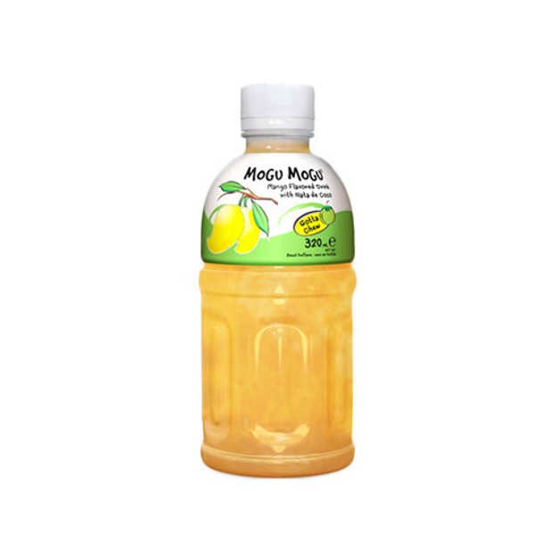 Product Detail - MOGU MOGU Mango Flavored Drink With Nata De COCO 320ml - image 0