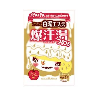 日本BISON 脂肪分解酵素配合白泥爆汗汤 苹果香 60g