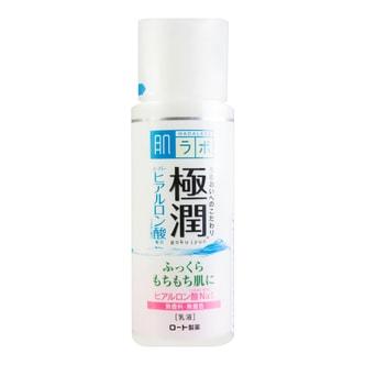 日本ROHTO乐敦 肌研 极润玻尿酸保湿乳液 140ml