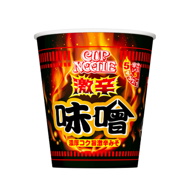 Product Detail - NISSIN Spicy Miso Flavor Cup Noodle 90g - image 0