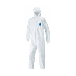 DUPONT Tyvek 500 Xpert CHF5 Hooded Coverall Size XL CE Certificate Cat.III
