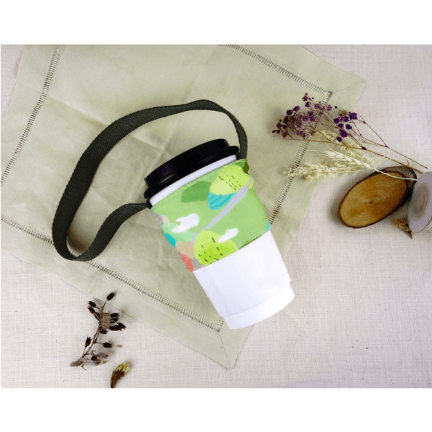 Product Detail - MONKEY DESIGN Double Layer Beverage Bag #Mountain - image 0