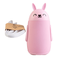USB Charger Mini Portable Little Pink Rabbit Hand Warmer 4000mAh 4-6 Hours Operation 5V/1A