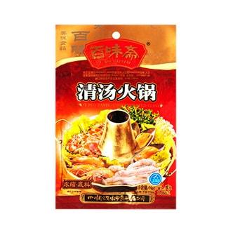 百味斋 清汤火锅浓缩底料 200g