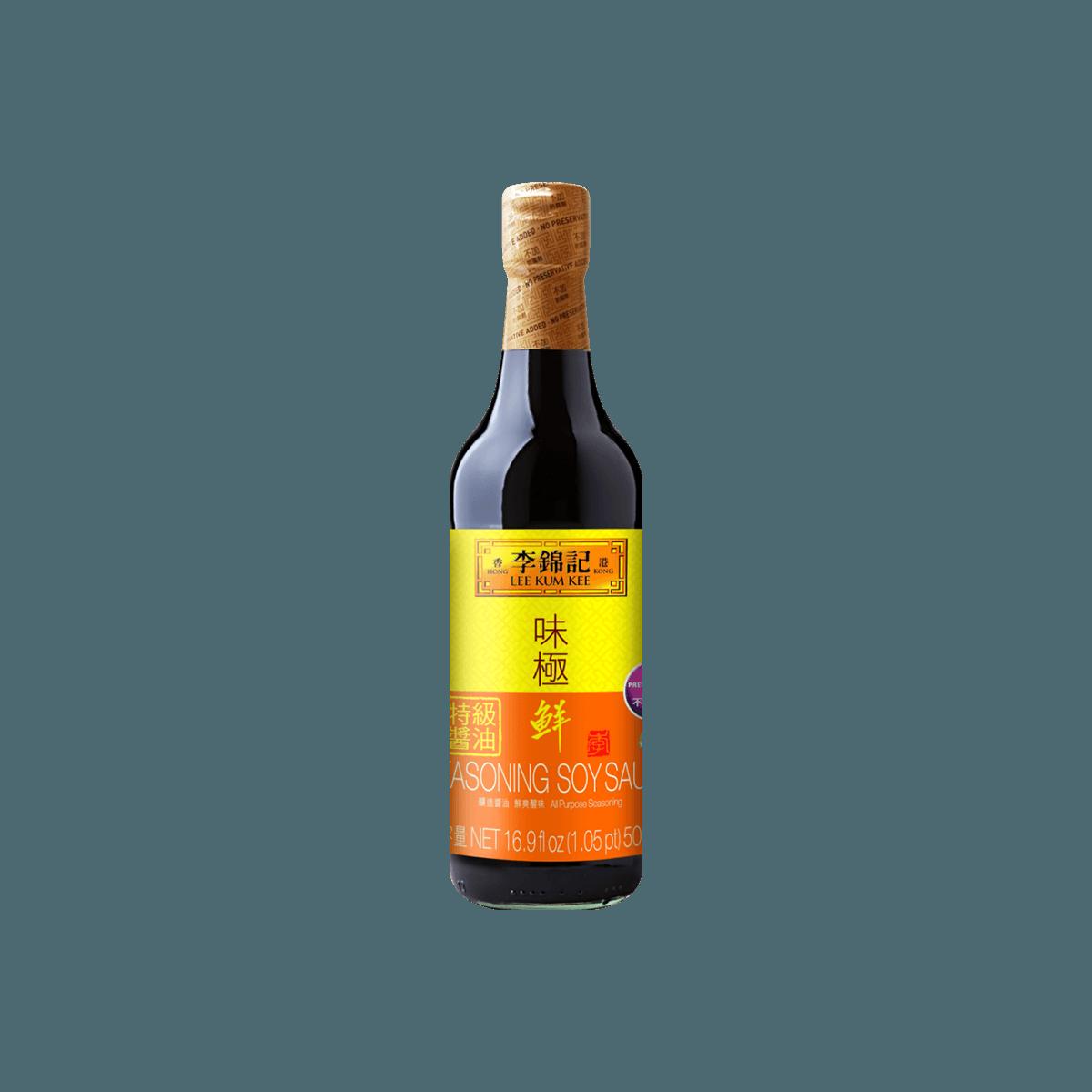 李锦记 味极鲜特级酱油 500ml (不加防腐剂) 怎么样 - 亚米网
