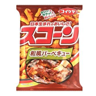 日本KOIKEYA湖池屋 粟米条 日式和风烧烤味 80g