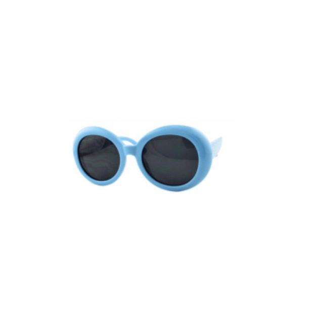 商品详情 - RETRO POP 时尚太阳镜 7416 蓝色镜框/灰色镜片 - image  0