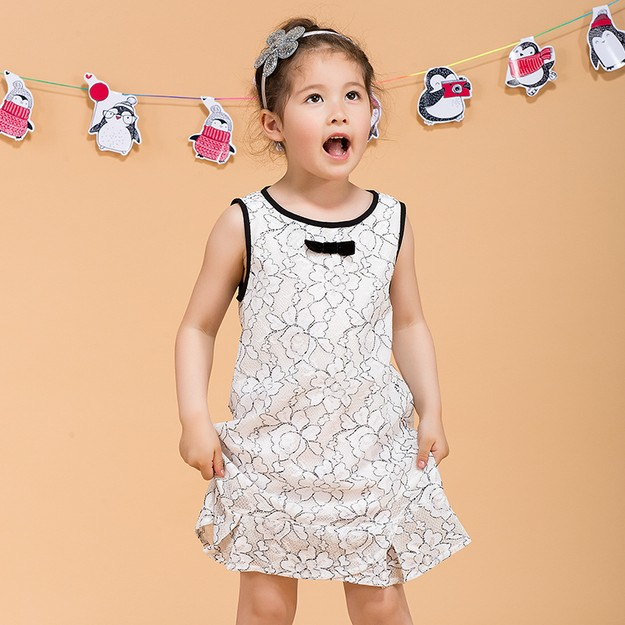 Product Detail - BIRRYSHOP  A lace dress for children   black  92 - image 0