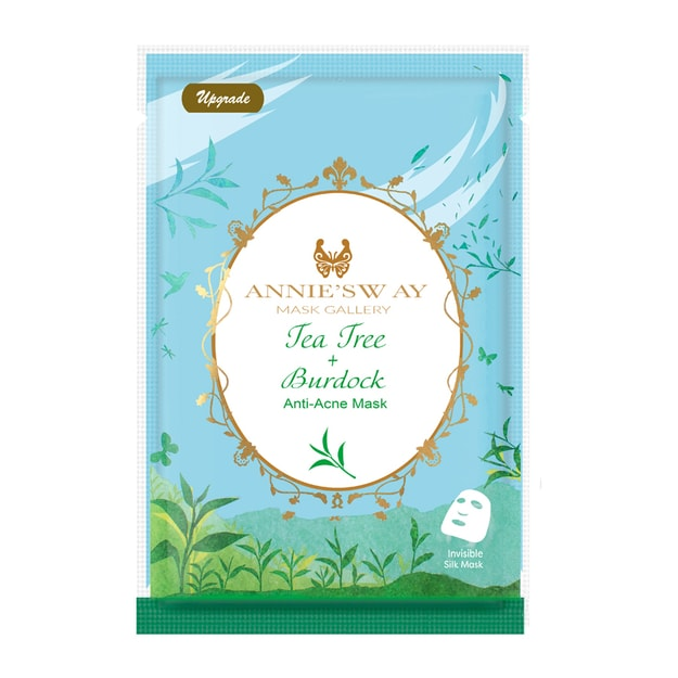 Product Detail - ANNIE\'SWAY Tea Tree + Burdock Anti-Acne Mask 1Sheet - image 0