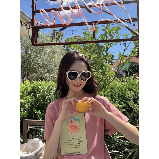 Product Detail - PRINSTORY 2019 Spring/Summer Healthy Fruit T-shirt Pink - image 0