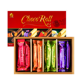 Chocolate Roll Gift Set 4 Flavors 312g