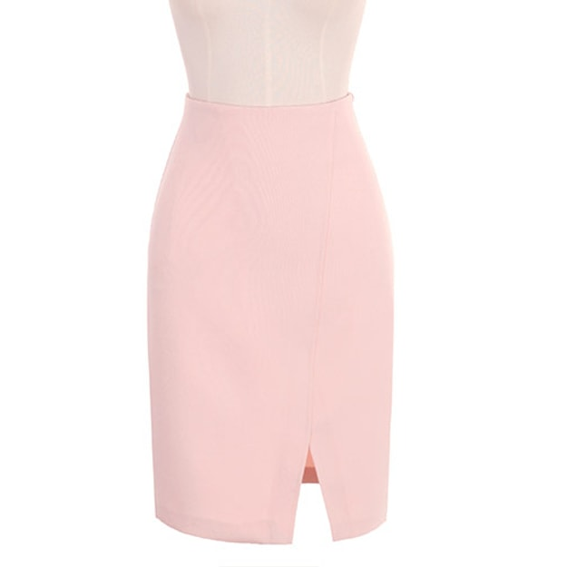 ATTRANGS Middle skirt Pink s
