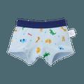 MIKIHOUSE  柔软亲肤全棉男宝宝内裤  蓝色 欢乐动物园 110cm 1件