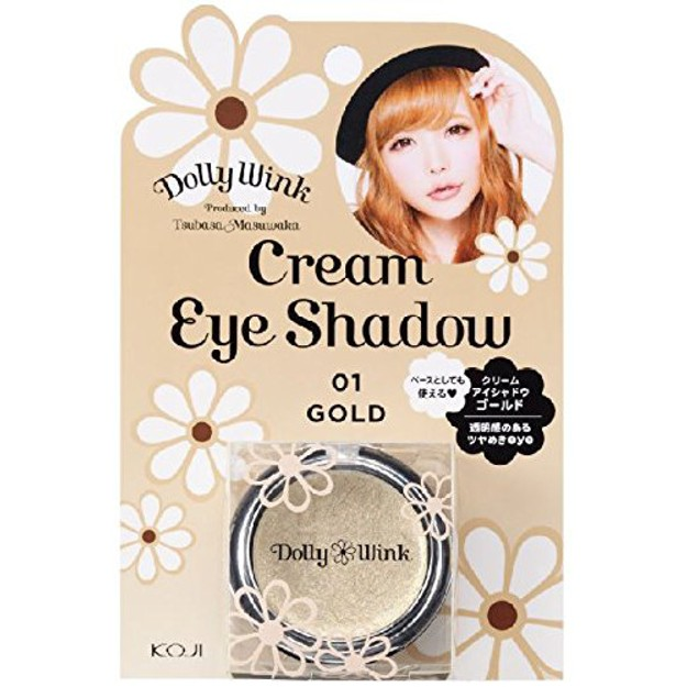 Product Detail - KOJI Dolly Wink Cream Eye Shadow #01 Gold - image 0