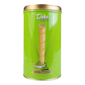 DUA KELINCI Deka Matcha Green Tea Wafer Roll 320g