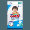 日本GOO.N大王 维E系列 通用婴儿环贴式纸尿裤 L号 9-14kg (20-30lb) 54枚入