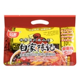 BAIJIA Five Flavors Bags Combination Instant Vermicelli 5bags 538g