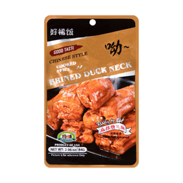 CHUNWEI SPICY BRINED DUCK NECK 84g