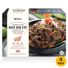 OMONA 韩式烤肋眼牛排 4包特别套餐
