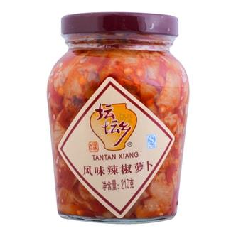 坛坛乡 珍品湘味 风味辣椒萝卜 210g