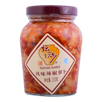 TANTANXIANG Pickled Chili Turnips 210g