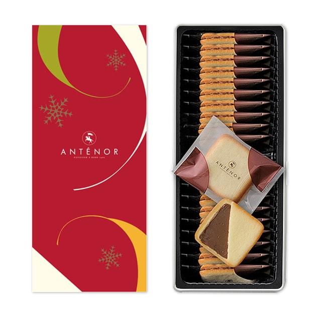 商品详情 - DHL直发【日本直邮】日本名菓ANTENOR 红茶巧克力夹心猫舌饼干 20枚装 - image  0