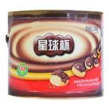 甜甜乐星球杯巧克力味酱+饼干粒 桶装 390g