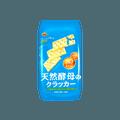 【低卡饼干·减脂期的首选】日本 BOURBON 波路梦 天然酵母苏打饼干 原味 147g