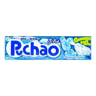 日本UHA悠哈味觉糖 汽水味果汁夹心软糖 50g